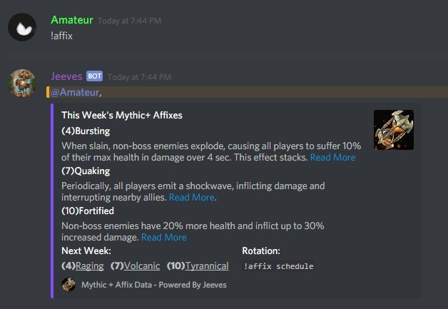 Jeeves Discord Bot 3 1 Update - Wowhead News