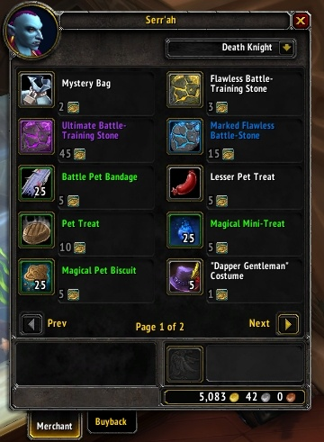 Battle Pet Currency Changes In Battle For Azeroth Polished Pet