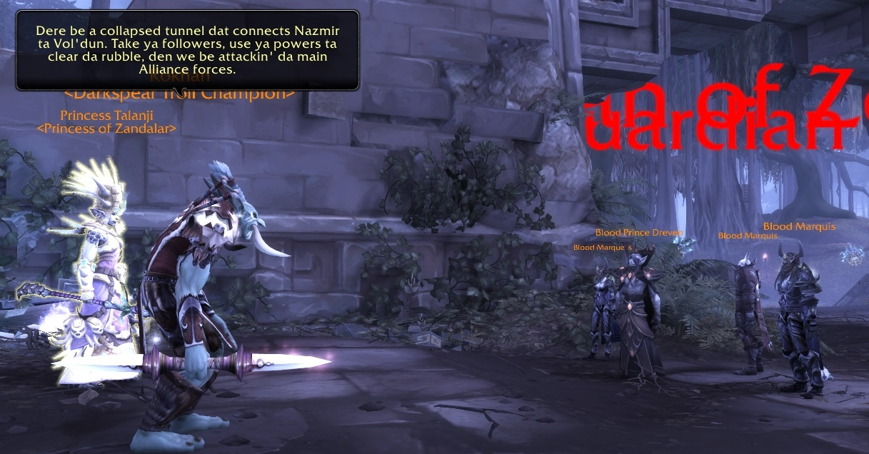 Alliance war campaign in battle for azeroth guides wowhead.