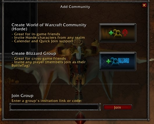 Battle for Azeroth Beta - In-game Guild/Community UI Updates