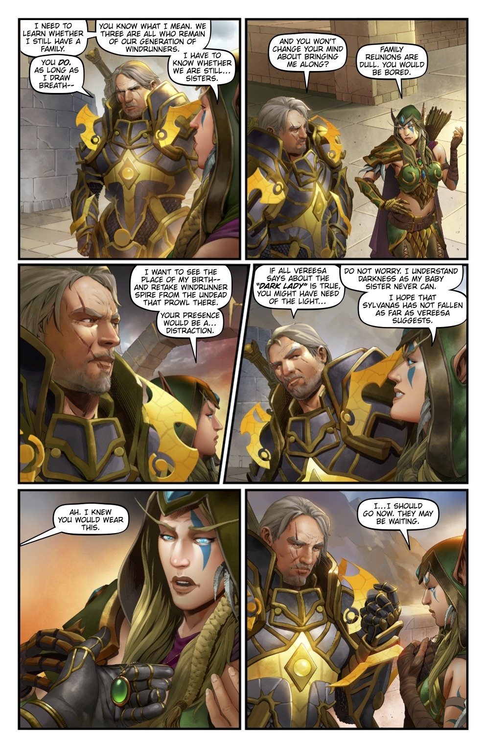 New Comic on the Windrunners -