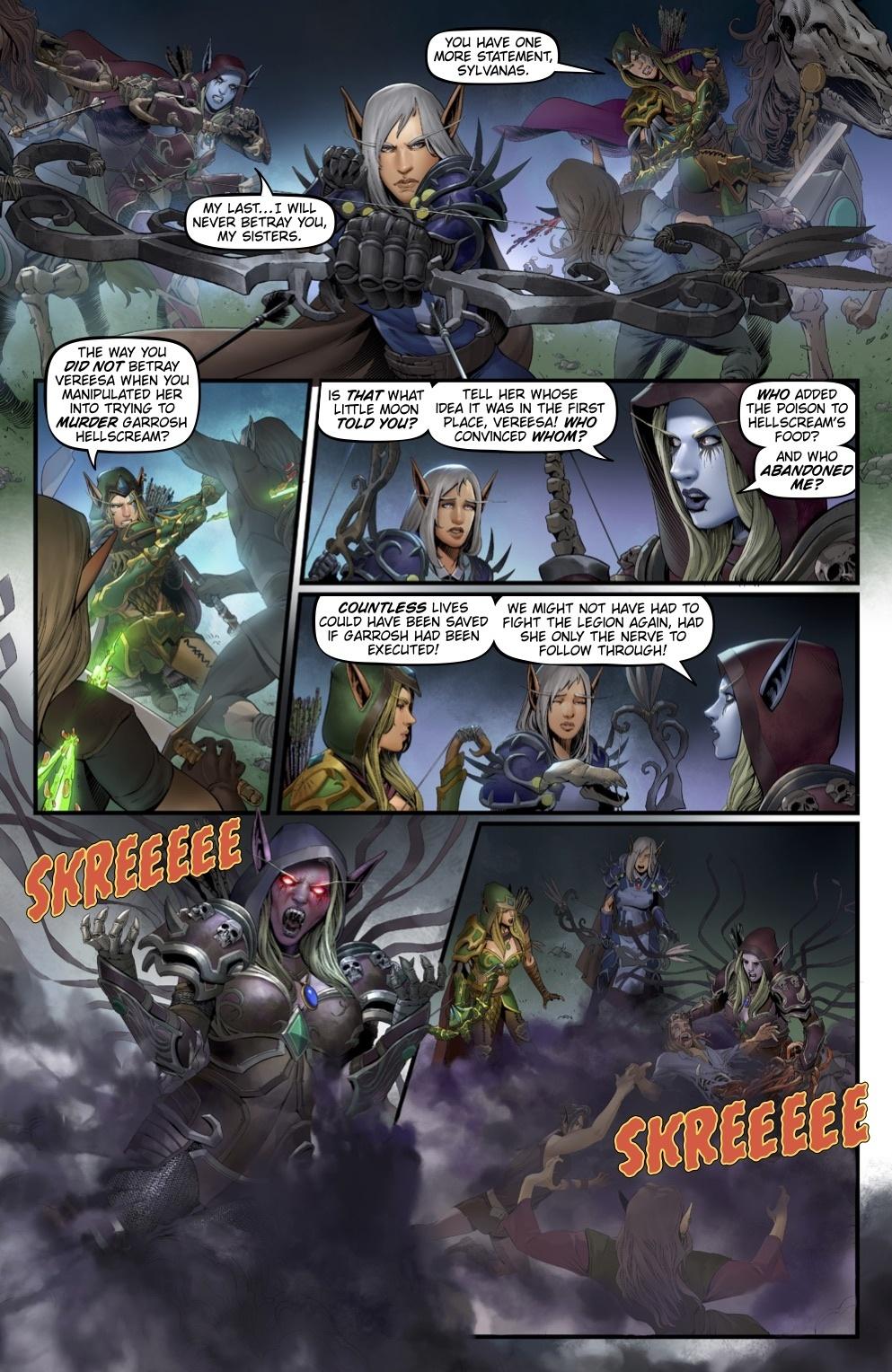 World Of Warcraft Comic Book