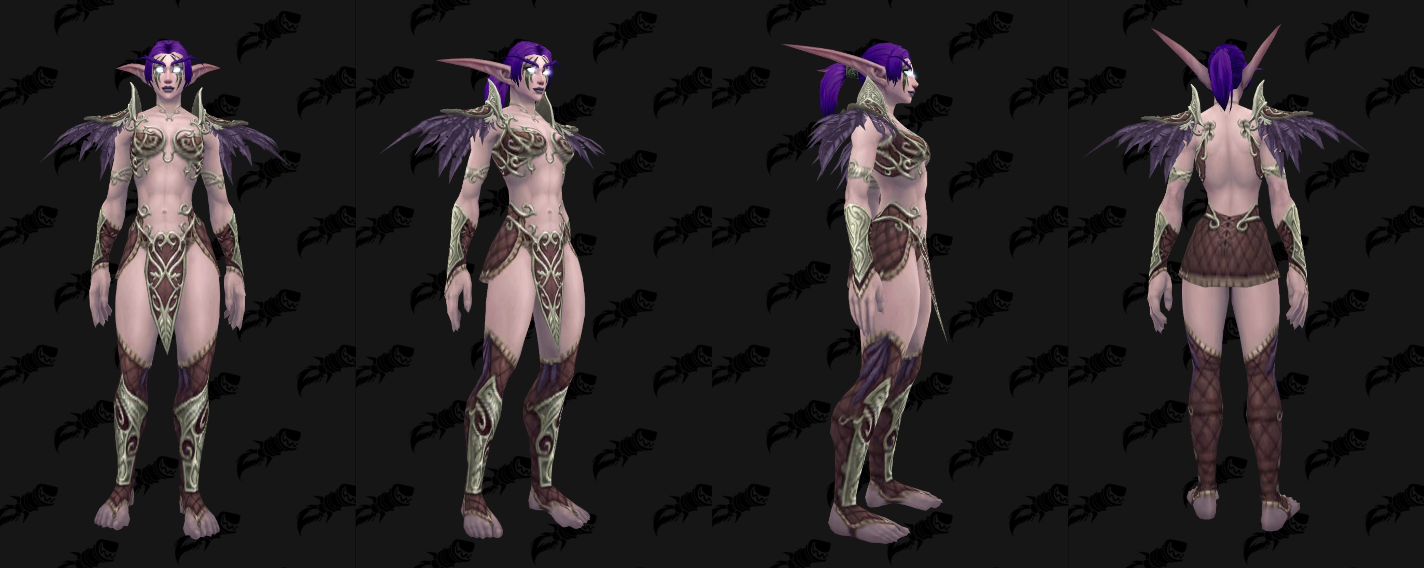 If This Is Not The Nightelf Heritage Armor Ill Be Vastly Disappointed