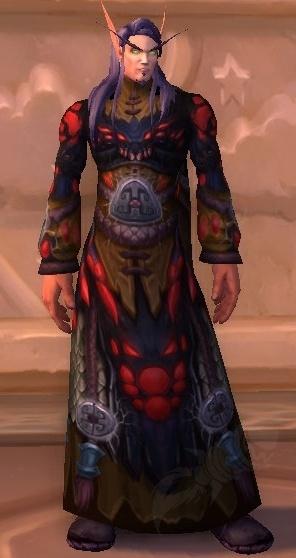 ccab4e1d4a0 Robe en peau de sha - Objet - World of Warcraft