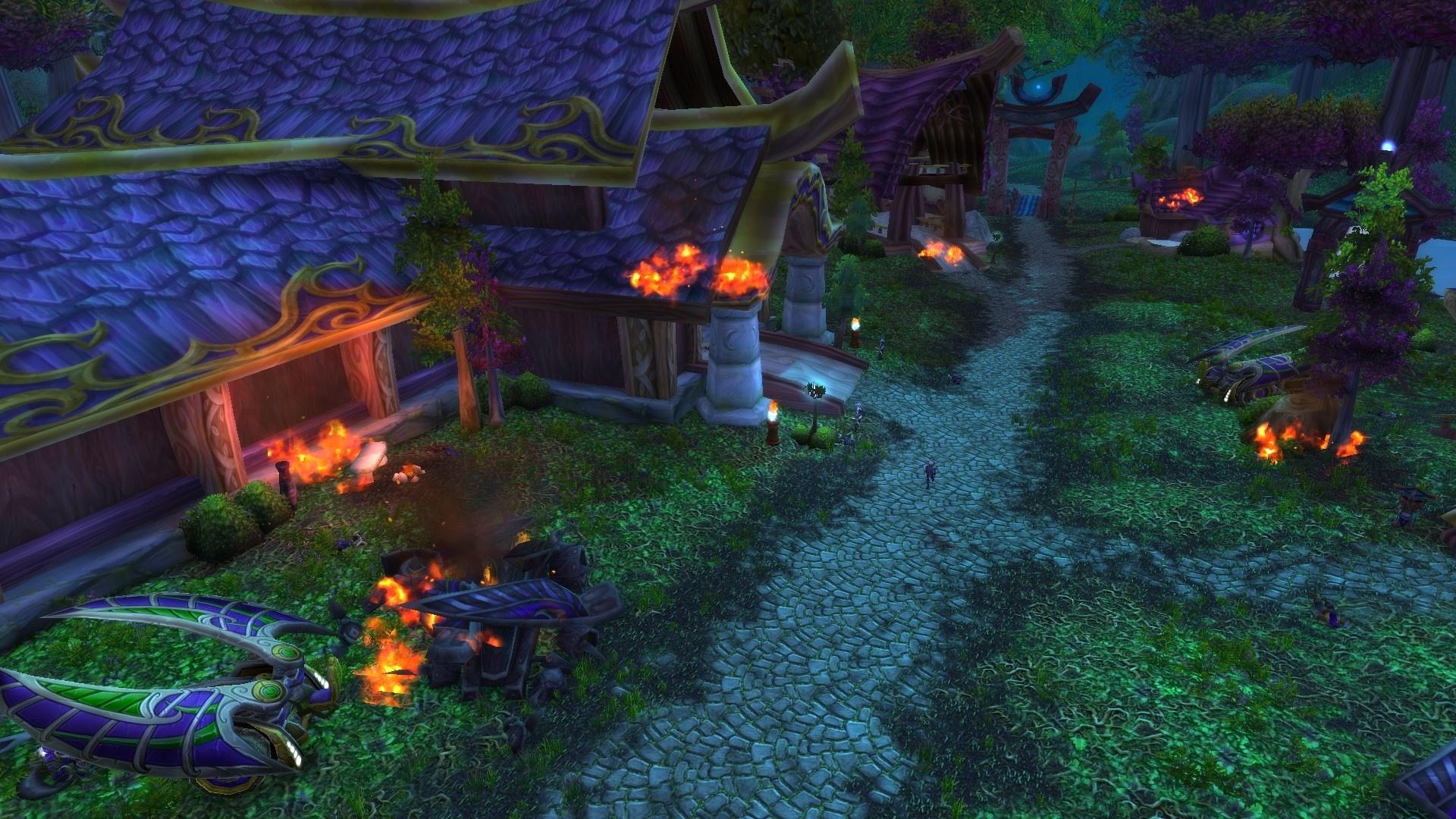 Burning Of Teldrassil Horde Playthrough And Unlocking Darkshore
