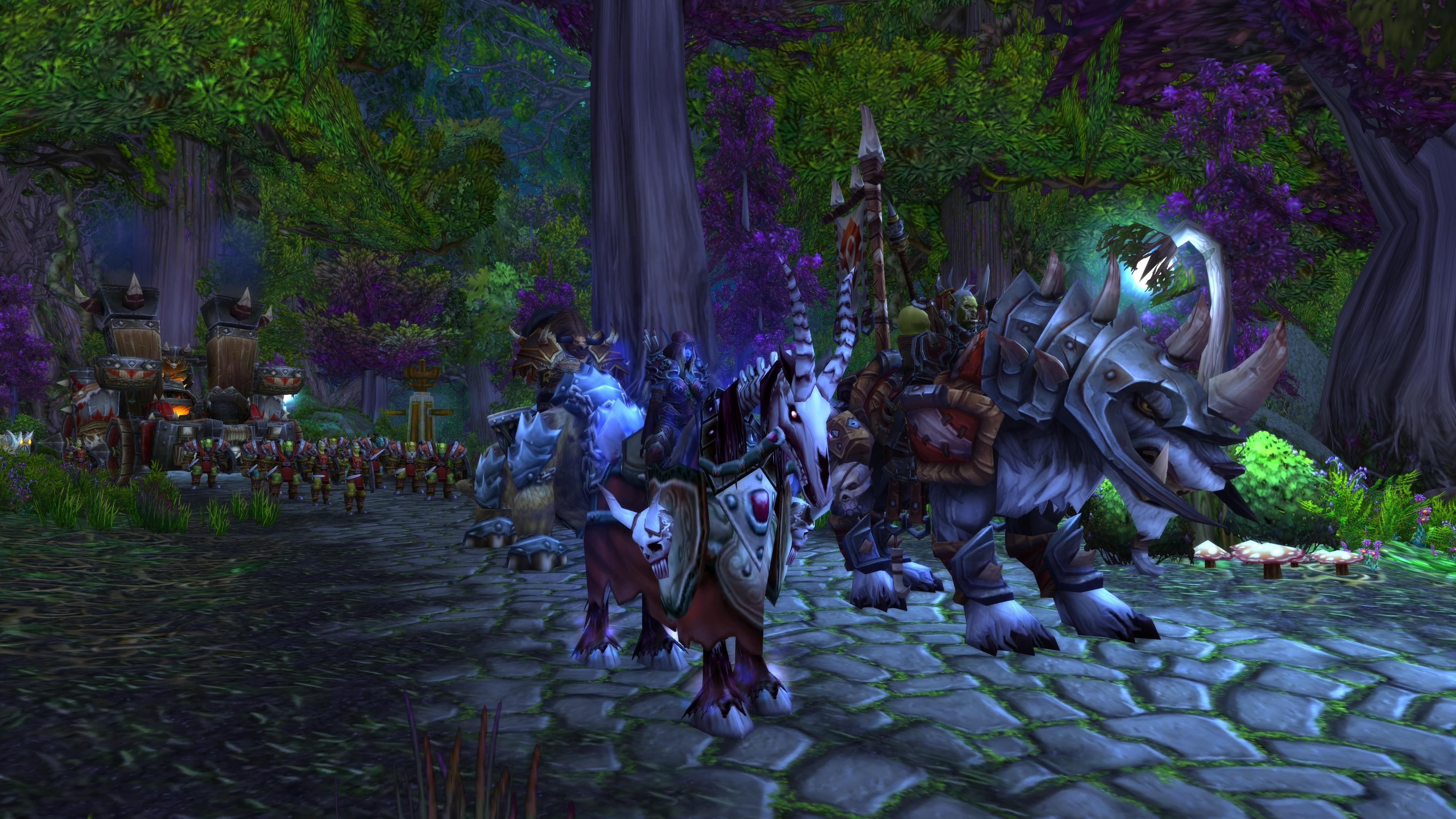 Ankunft Zur Rechten Zeit Quest World Of Warcraft