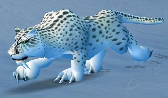 Snow Leopard - NPC - World of Warcraft