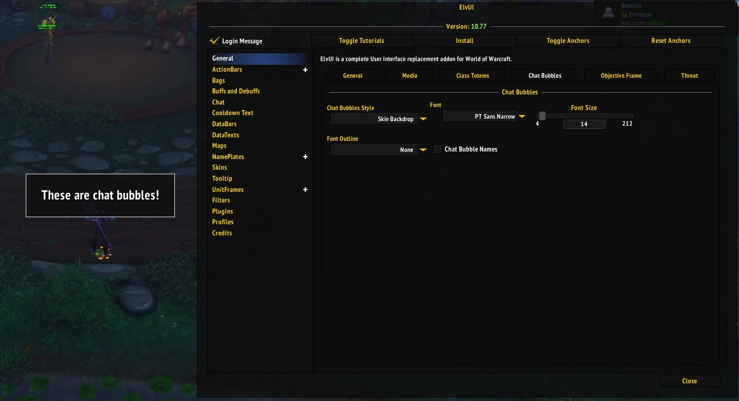 interface elvui
