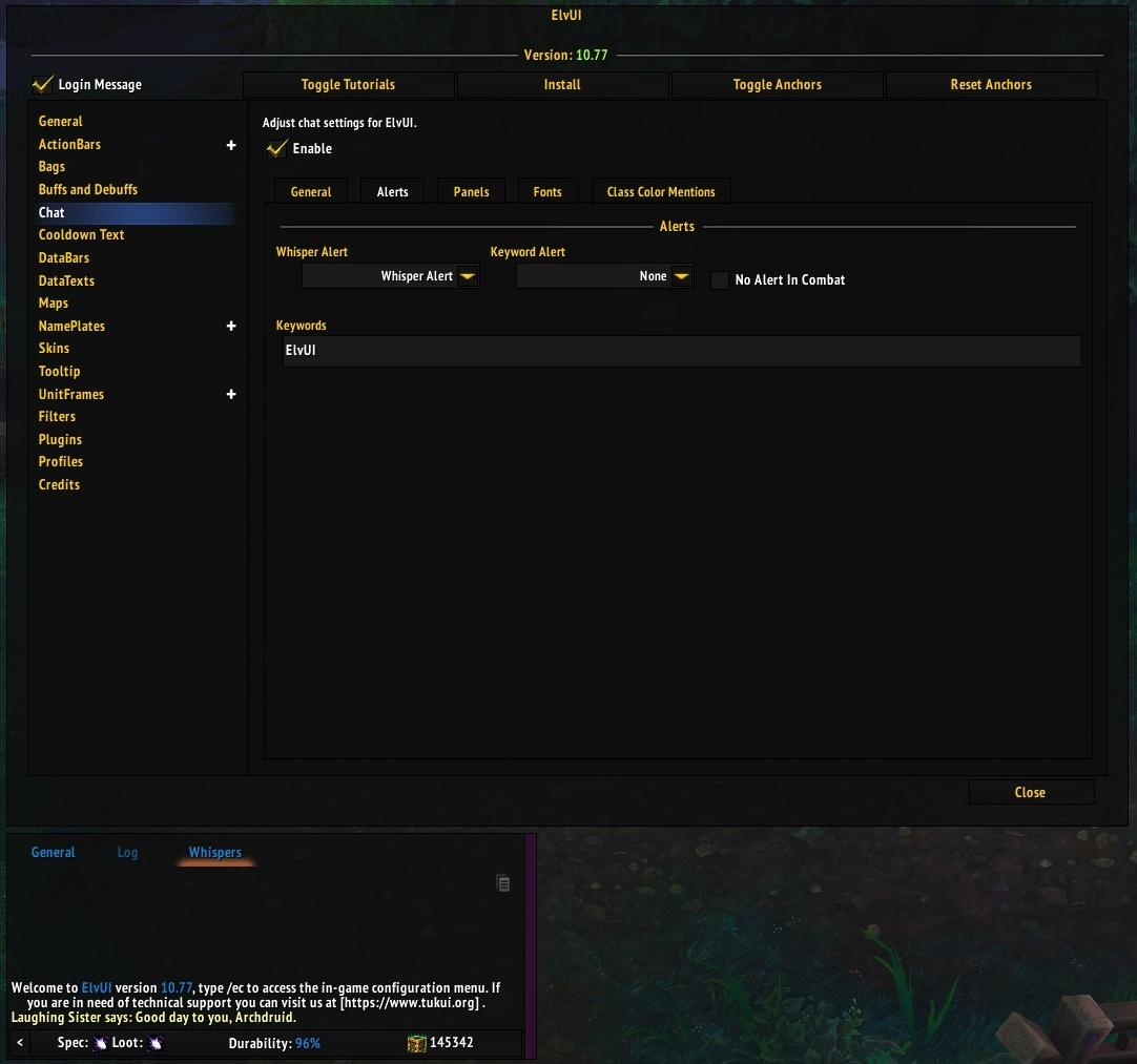 Arena Unit Frames Commands | damnxgood com