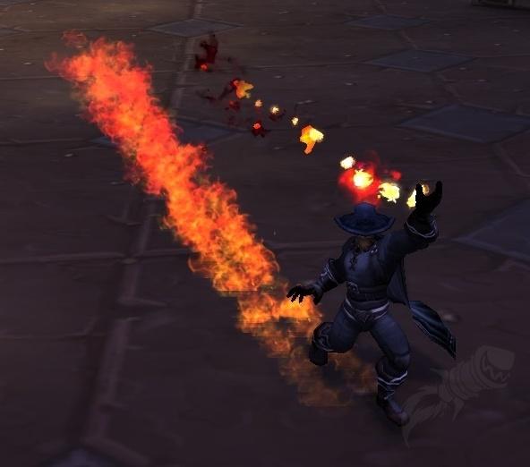 Burning Rush - Spell - World of Warcraft