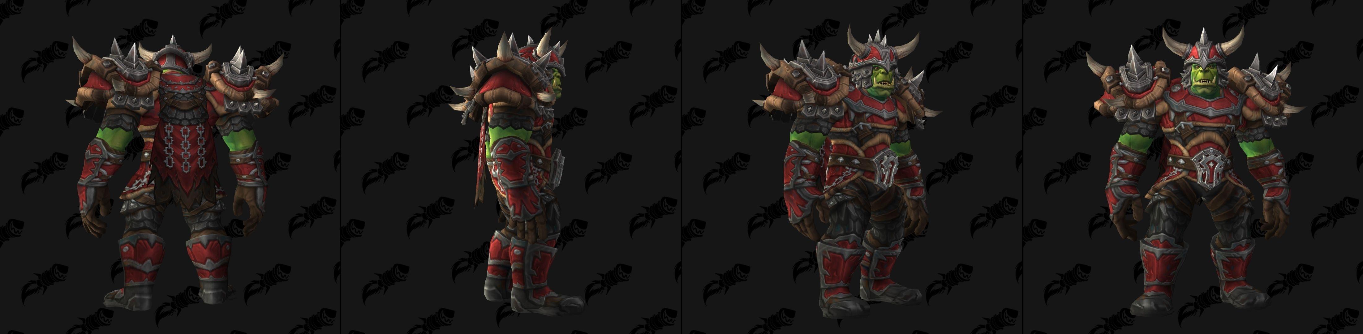 Season 26 Transmog - Dread Gladiator and Aspirant Armor and