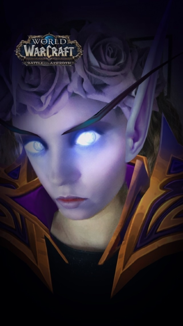 Battle for Azeroth Snapchat Filters - Void Elf and Orc