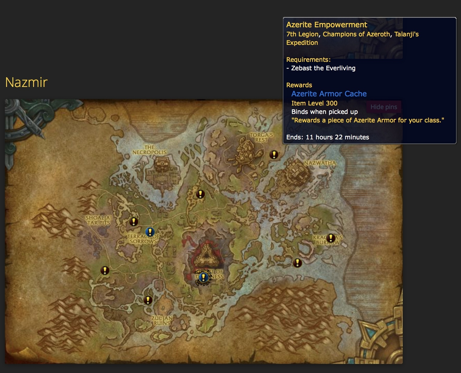 World Quest Tracking for Battle for Azeroth - Wowhead News