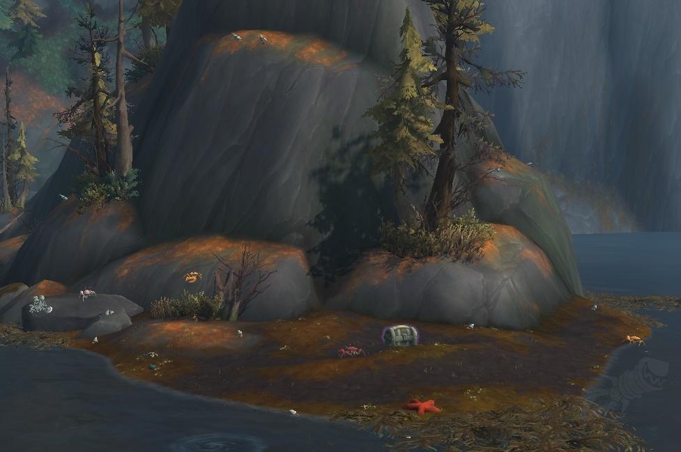 Carte Au Tresor Effacee.Fading Treasure Map Objet World Of Warcraft
