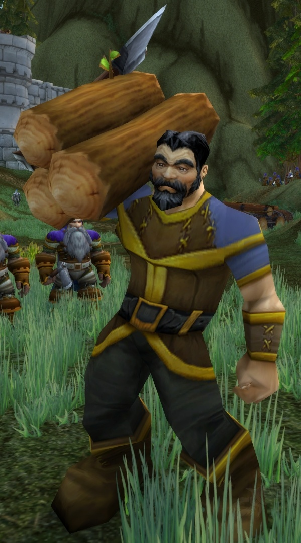 Alliance Peasant Npc World Of Warcraft