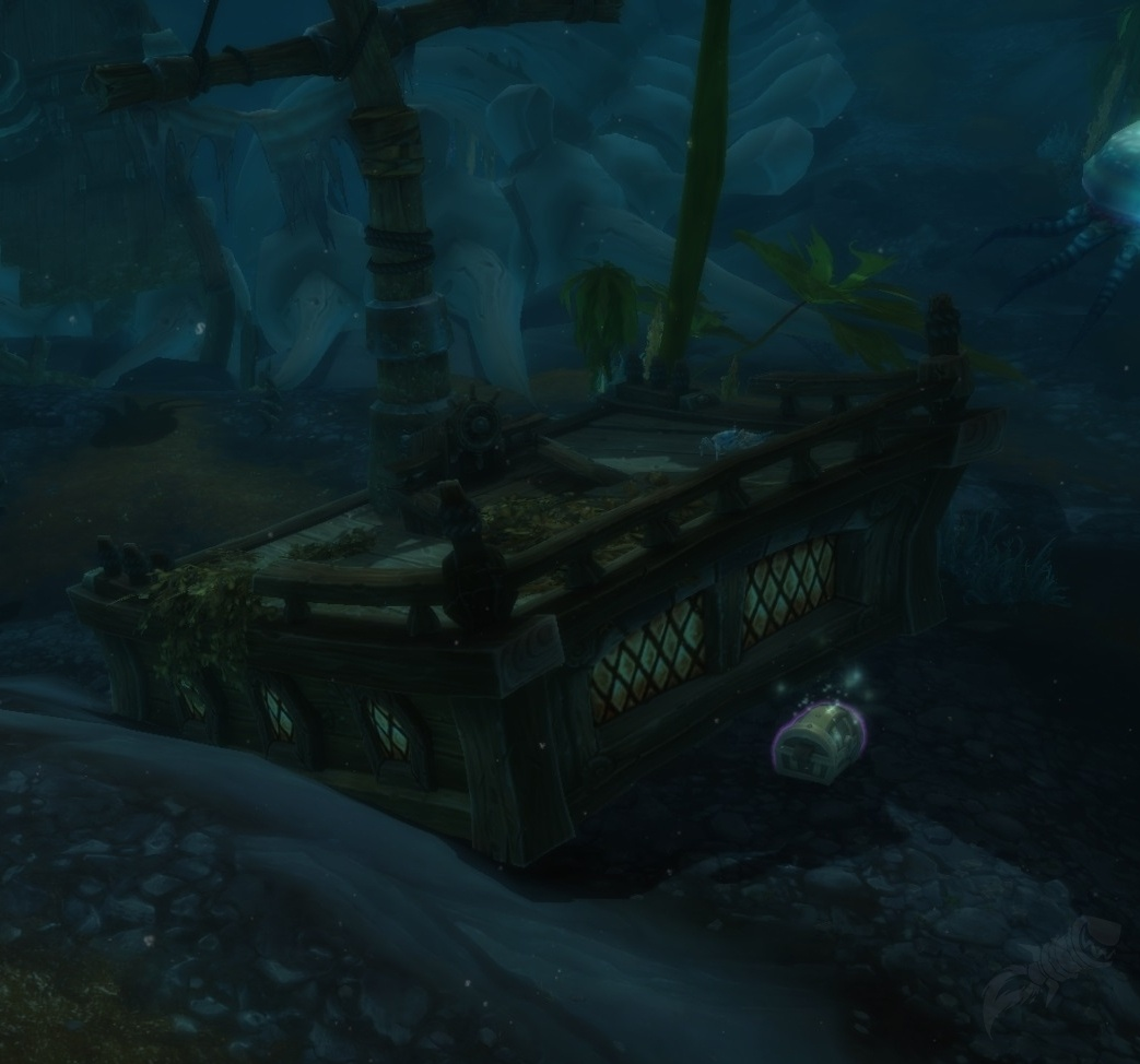 Carte Au Tresor Effacee Wow.Soggy Treasure Map Objet World Of Warcraft
