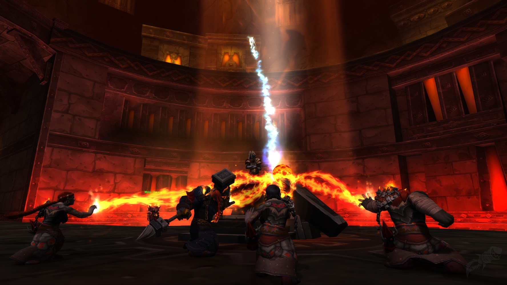 Forged In Fire An Flame Quest World Of Warcraft border=