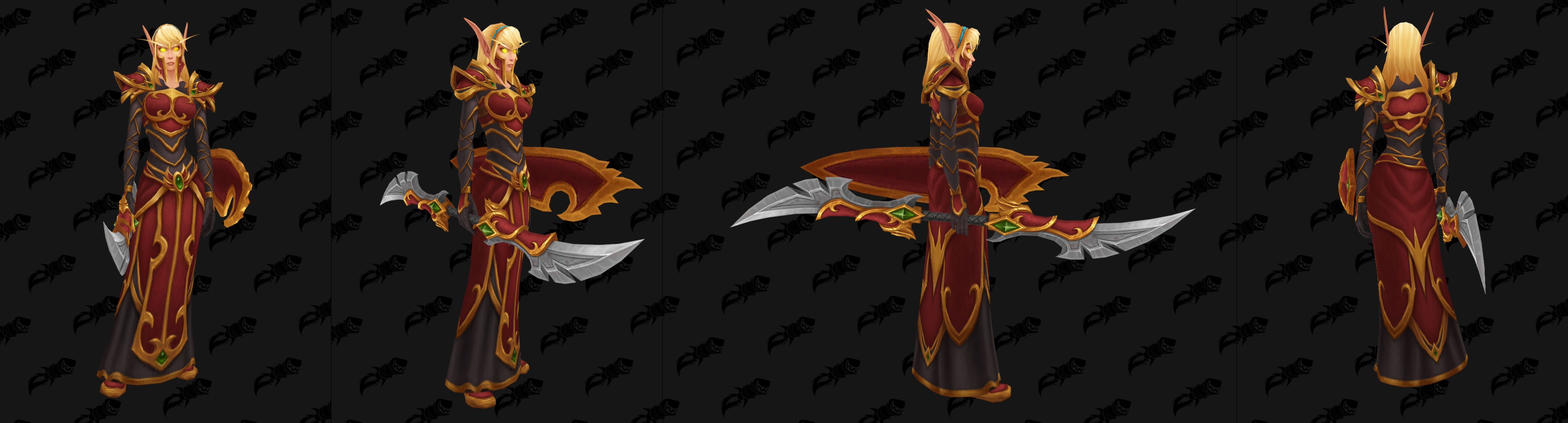 Patch 8 1 PTR Build 28151 - Blood Elf Heritage Armor - Now in