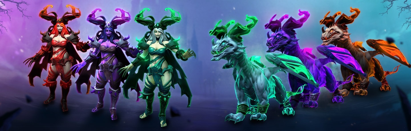 Hots Halloween Mount 2020 New Heroes of the Storm Event: Fall of King's Crest   Wowhead News