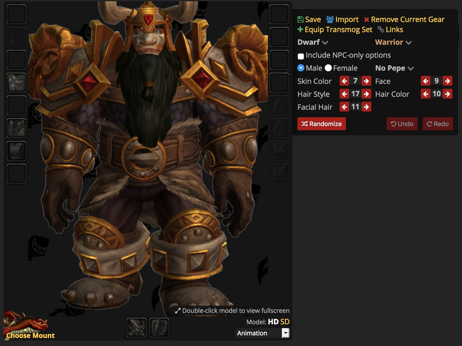 Item Highlights From Patch 81 Build 27985 Dwarf Armor In Dressing