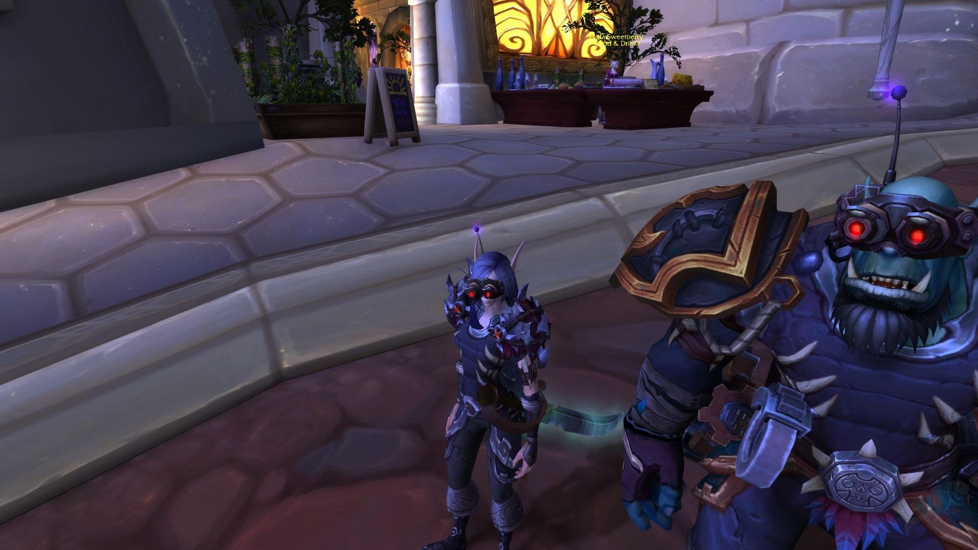 AZ3-R1-T3 Gearspun Goggles - Item - World of Warcraft