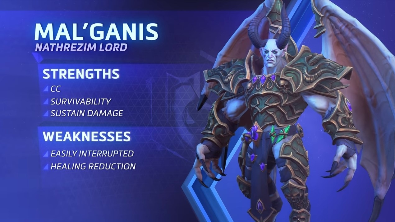 Heroes Of The Storm Mal Ganis Spotlight Wowhead News Find the best hots mal'ganis build and learn mal'ganis's abilities, talents, and strategy. heroes of the storm mal ganis