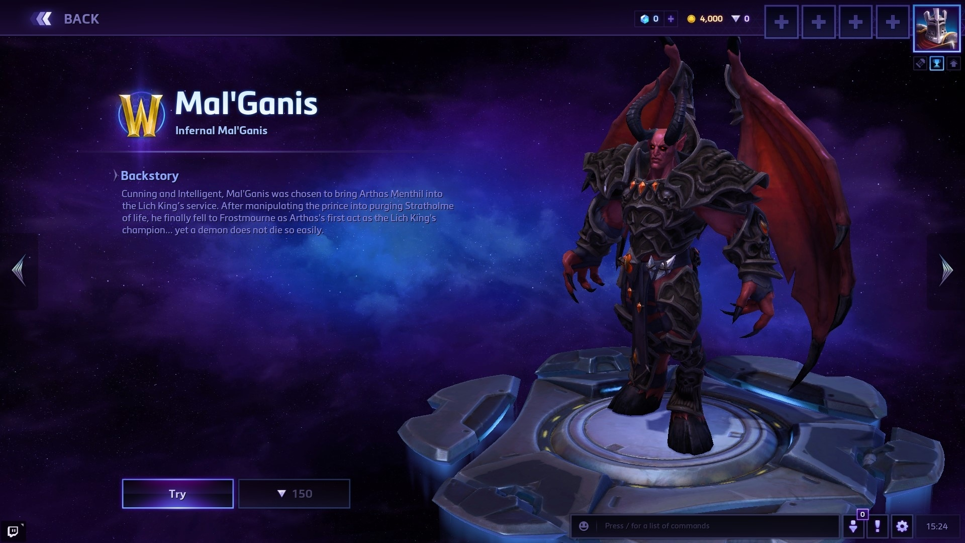 Heroes Of The Storm Mal Ganis Spotlight Wowhead News Talent builds, playstyle, matchups, maps, etc. heroes of the storm mal ganis