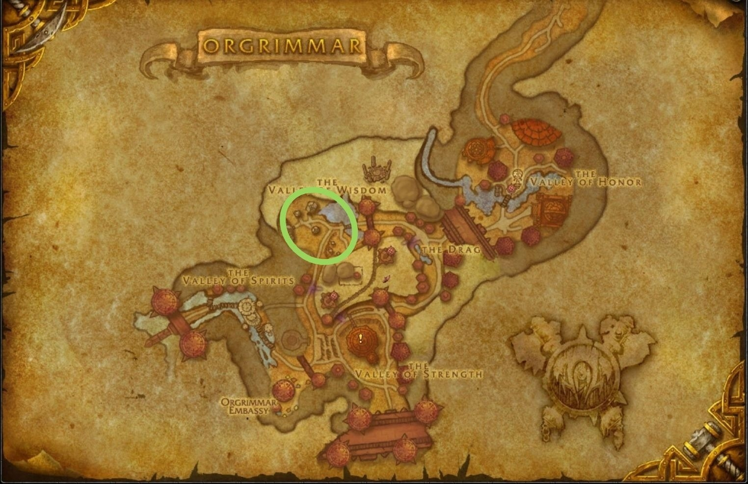 wow orgrimmar mining trainer