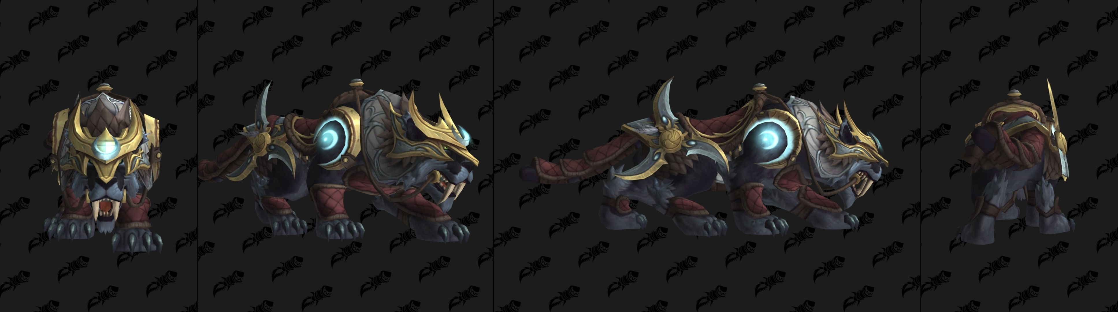 Patch 8 1 PTR Build 28202 - New Mounts Gilded Edition G M O D