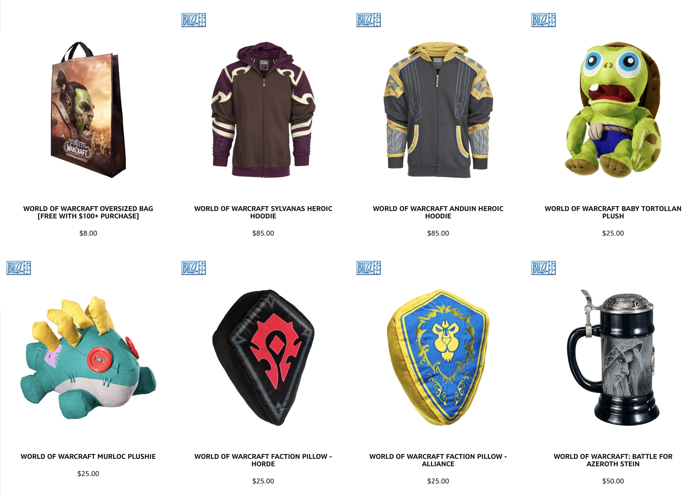 Blink Shopping Now Live for BlizzCon 2018 Attendees - More