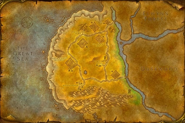 Everquest P99 Map