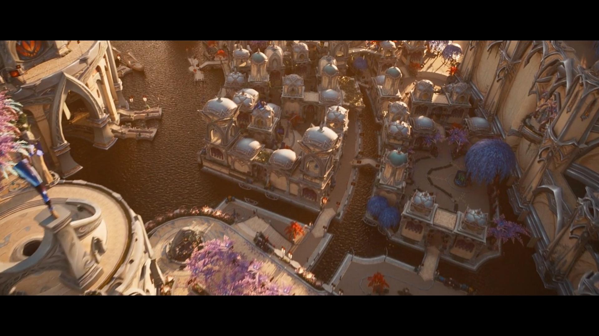 Recreating Suramar City in a Realistic Engine - Wowhead News