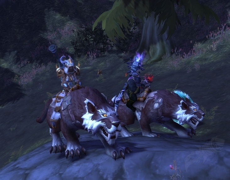 Captured Kaldorei Nightsaber - Item - World of Warcraft