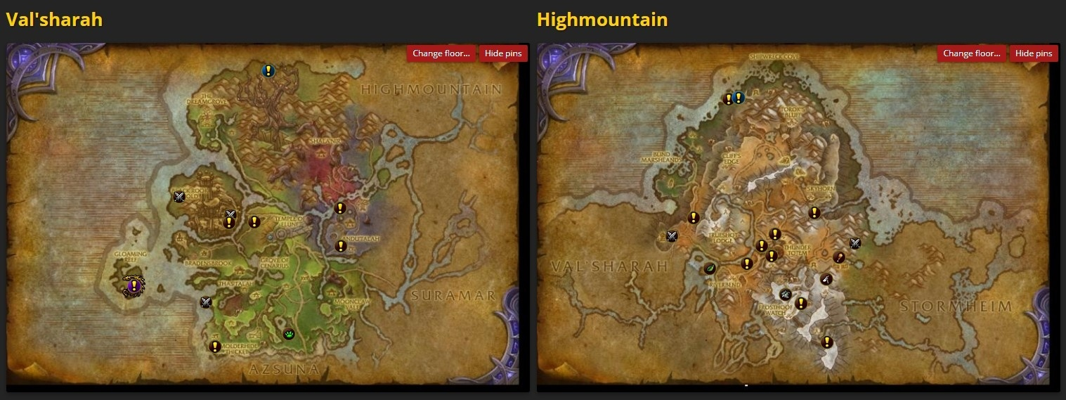 Legion World Map.Legion World Quest Timers And Invasions Back To The Site