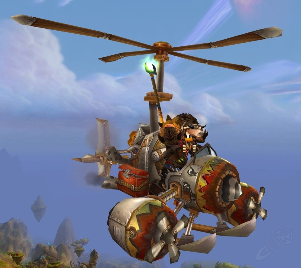 wow flying machine