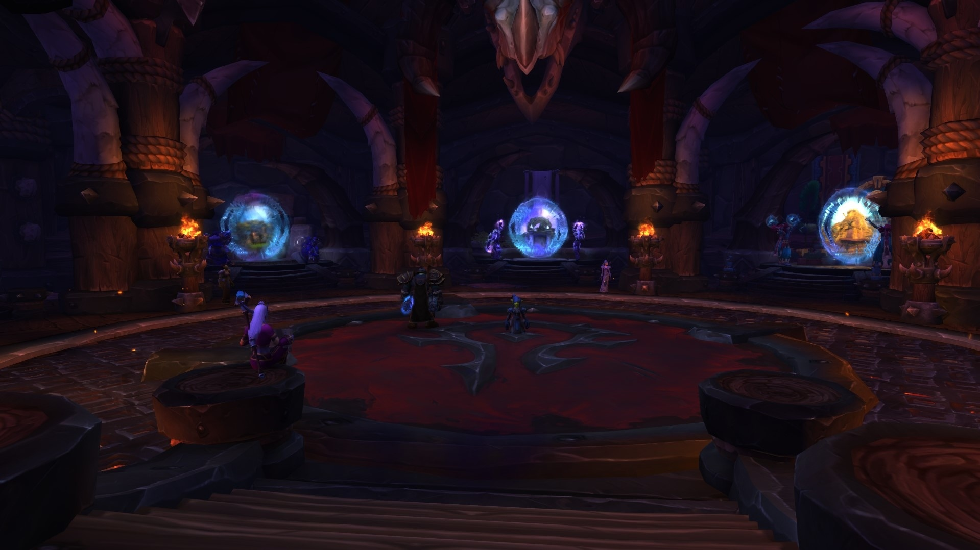 New Portal Rooms in Patch 8 1 5 - Removed Portals Will Show Up While