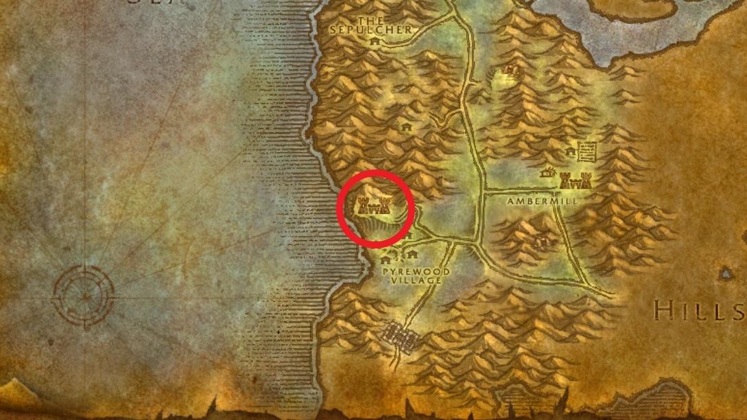 Крепость Темного Клыка