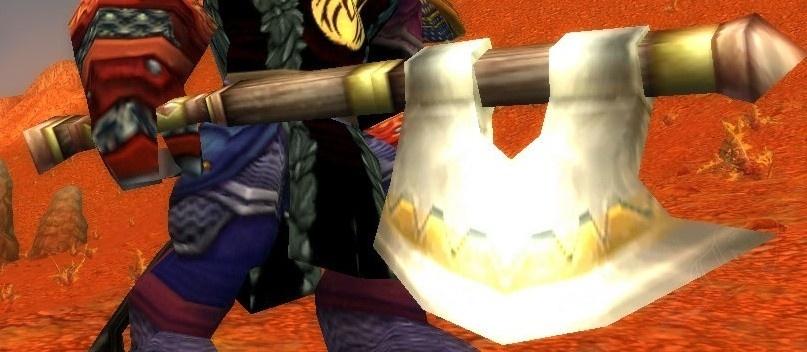 Lumbering Ogre Axe - Item - World of Warcraft