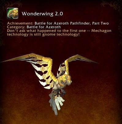 8 2 PTR Build 30080 - Battle for Azeroth Pathfinder Part 2