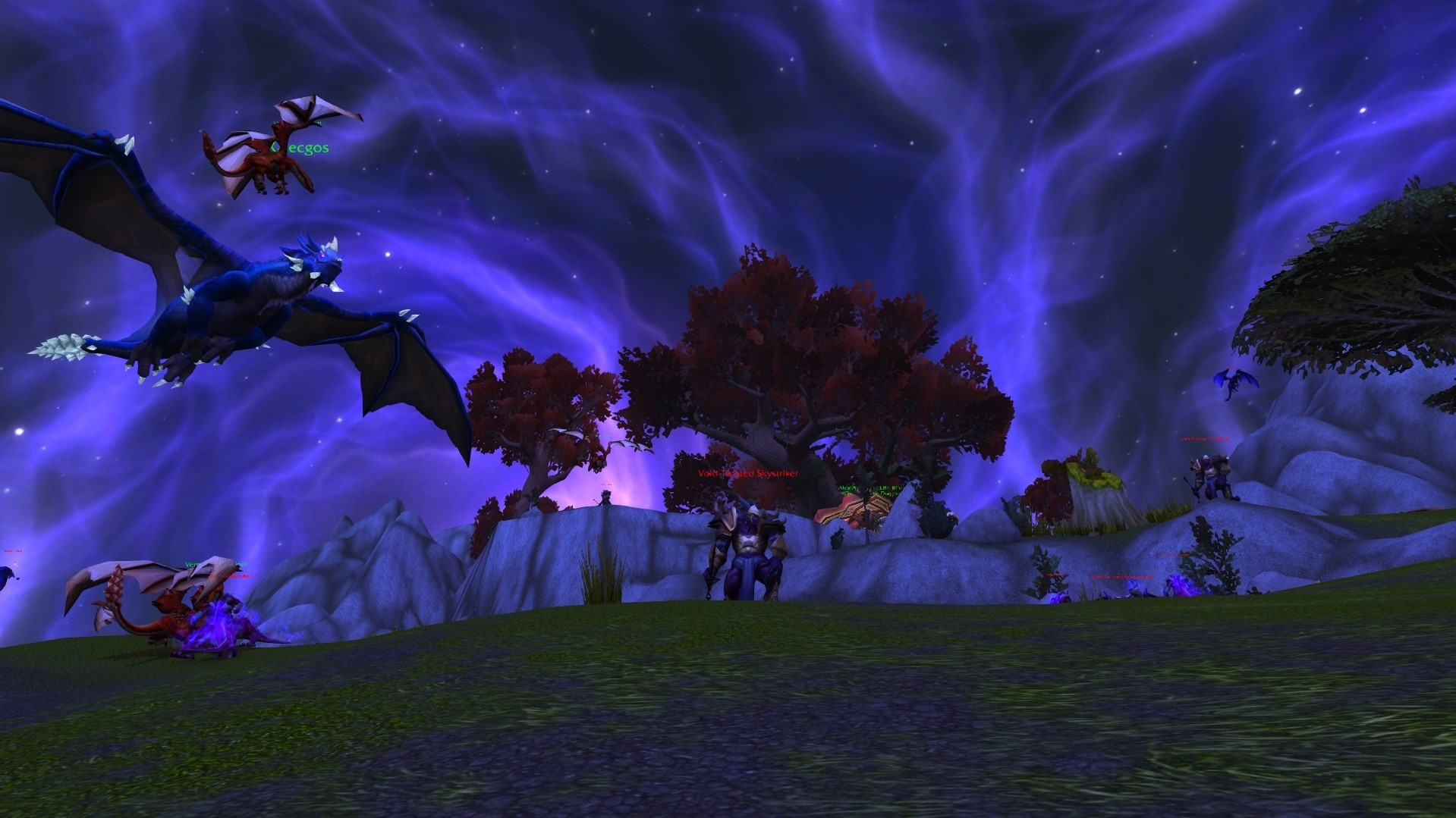 Dragonflights and Heart of Azeroth Essences Questline with