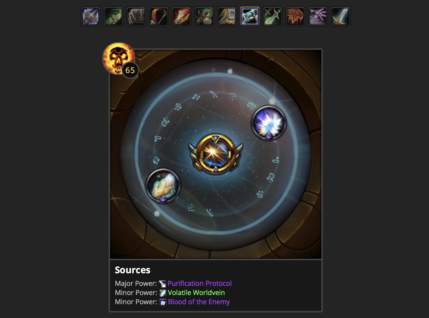 Consolidated Class Changes for Patch 8 2 - Rise of Azshara - Guides