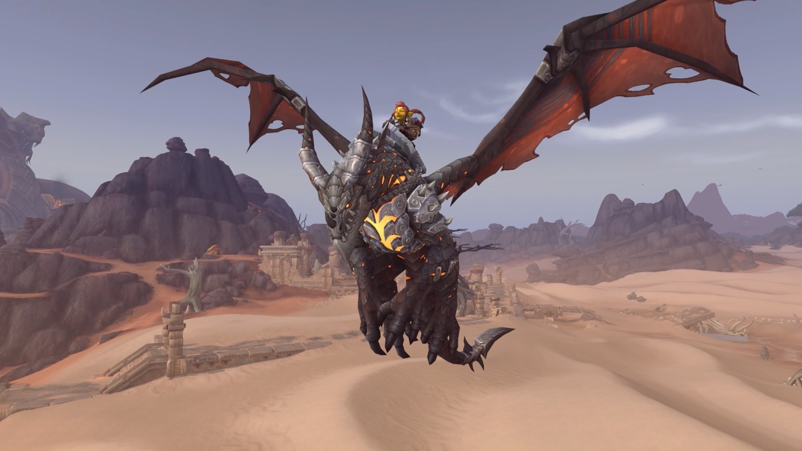 Warcraft's 15th Anniversary Celebration: Ragnaros Statue, Obsidian