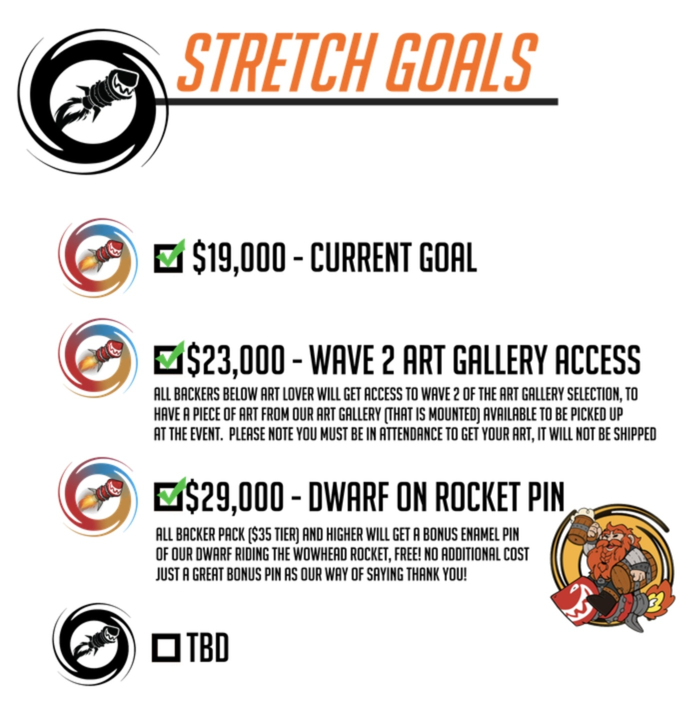 BlizzCon Party Update - Stretch Goals, New Collectible Pin, Call for  Artists - Wowhead News