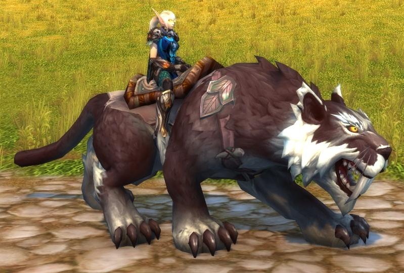 Umber Nightsaber - Item - World of Warcraft