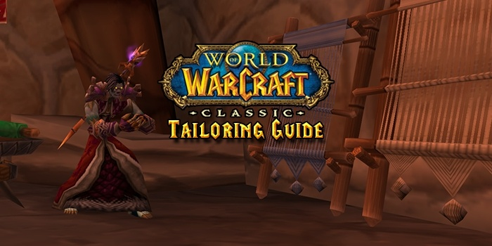 Classic Wow Tailoring Profession Guide Leveling 1 300 Guides