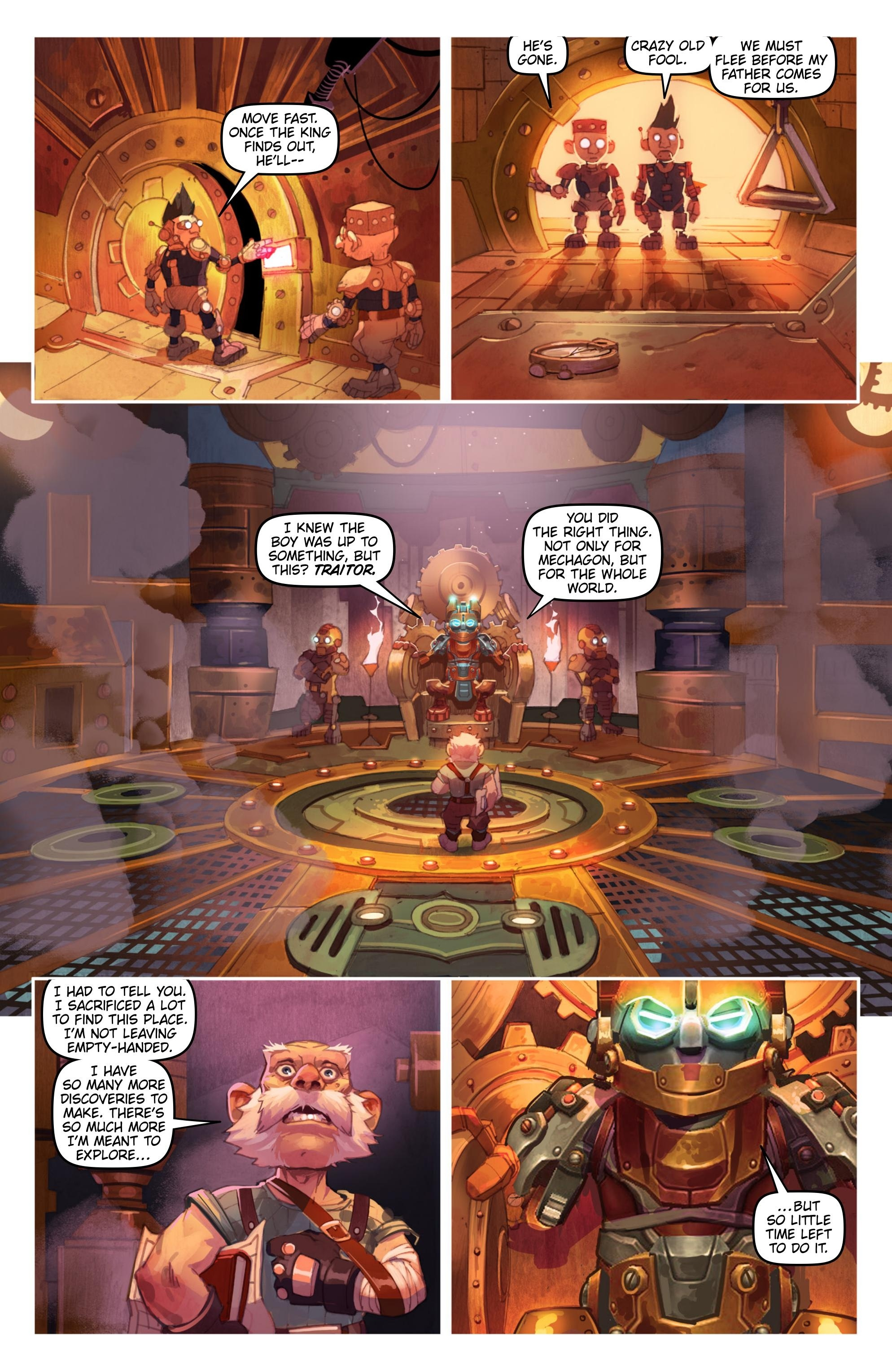 New Comic: World of Warcraft: Battle for Azeroth #4