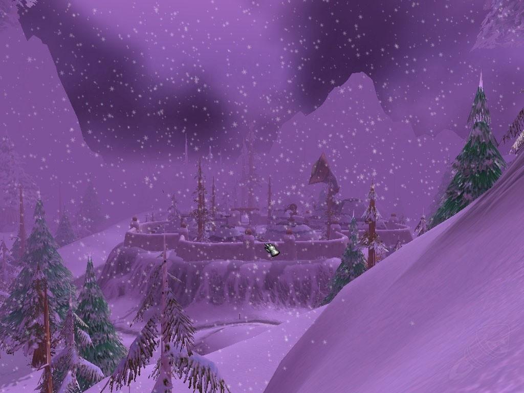 Berceau De L Hiver Winterspring Zone World Of Warcraft Classic