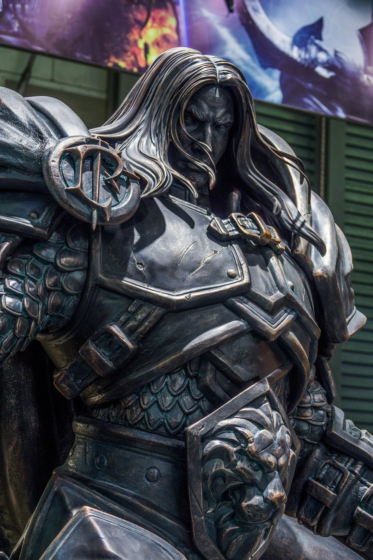 Arthas Menethil Statue By Infinity Studio Revealed At