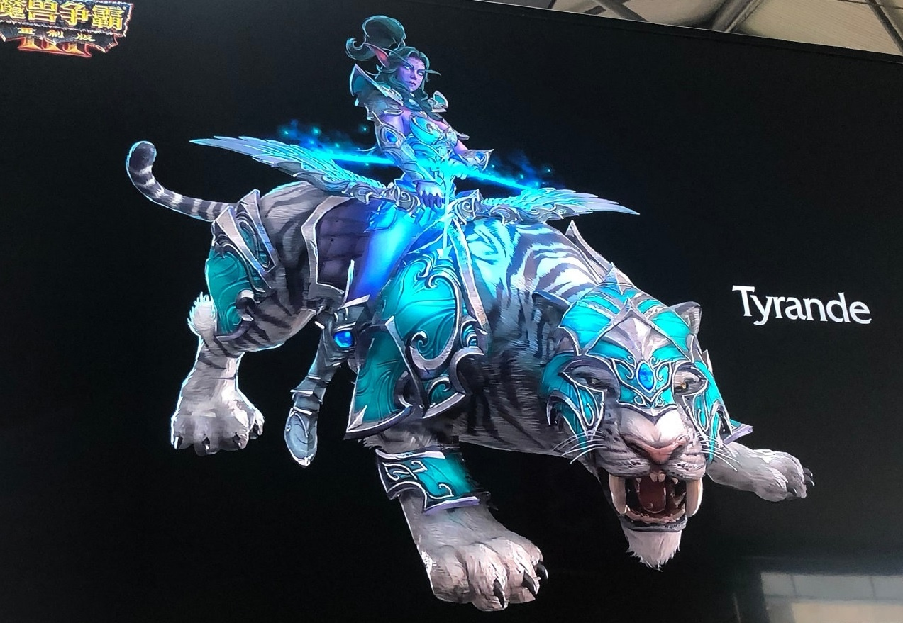 Tyrande and Thrall Warcraft III: Reforged Models - Wowhead News