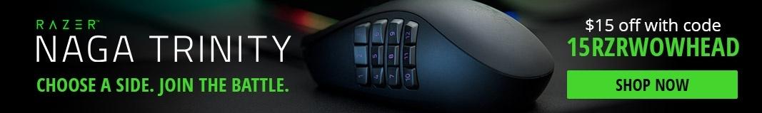 Mastering Many Buttons with your Razer Naga Trinity